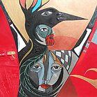 Crow He and Crow She by arteology