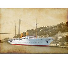the old liner Photographic Print