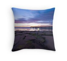 Point Lonsdale Pier at Dawn Throw Pillow