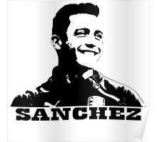 Alexis Sanchez (white)  Poster