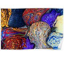 Balls of Yarn Poster