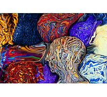 Balls of Yarn Photographic Print