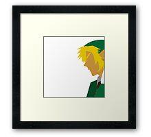 Legend of Zelda - Link Framed Print