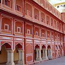 Red Building - Agra by Braedene