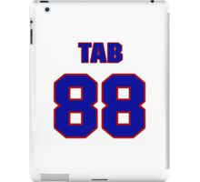 National football player Tab Perry jersey 88 iPad Case/Skin