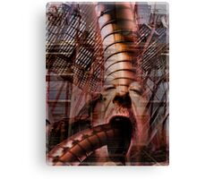 Industrial evolution Canvas Print
