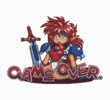 Popful Mail (Sega CD) Game Over Shirt One Piece - Short Sleeve