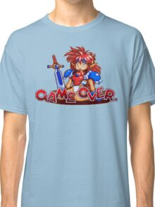 Popful Mail (Sega CD) Game Over Shirt Classic T-Shirt