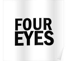 Glee: Four Eyes Poster