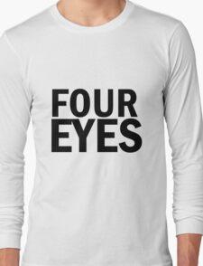 Glee: Four Eyes Long Sleeve T-Shirt