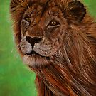 Lion by Avril Brand
