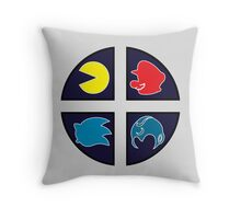 Video Game Icons Throw Pillow