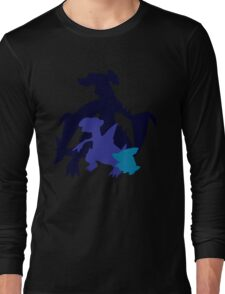 Gible Gabite Garchomp Long Sleeve T-Shirt