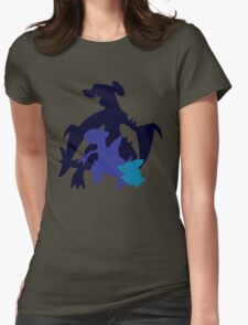 Gible Gabite Garchomp Womens Fitted T-Shirt