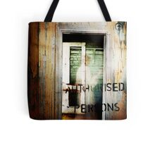 worn. Tote Bag