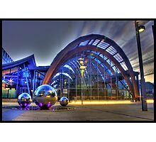 A Splash Of Colour at the Winter Gardens Photographic Print
