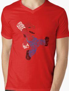 Super Mario Mens V-Neck T-Shirt