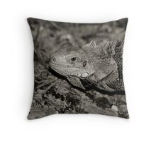Iguana 2 Throw Pillow