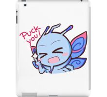 Puck you iPad Case/Skin