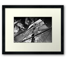 Wind in the Sails Framed Print