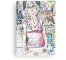 Gail at Llankelly Place Canvas Print