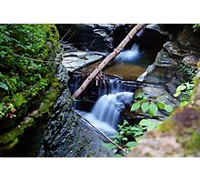 Silky Glen Falls Photographic Print