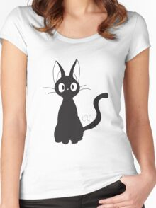 JiJi- Kikis delivery service Women's Fitted Scoop T-Shirt