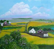 The Canola Field by cruserart