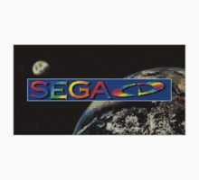 Sega CD Logo Shirt Kids Clothes