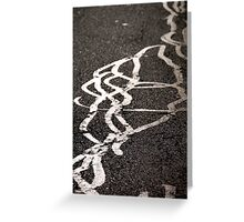Signed in Silver Greeting Card