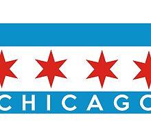 chicago flag by tony4urban