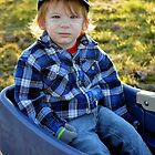 Golden-haired Boy by Danielle LaBerge