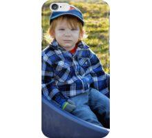Golden-haired Boy iPhone Case/Skin