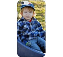 Golden-haired Boy iPhone Case/Skin
