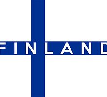 flag of finland by tony4urban