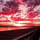 Soldiers Point Sunset by Centralian Images