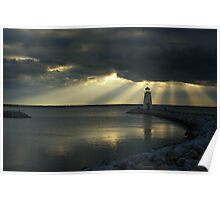 Crepuscular Rays!!! Poster
