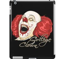 College Clowning iPad Case/Skin