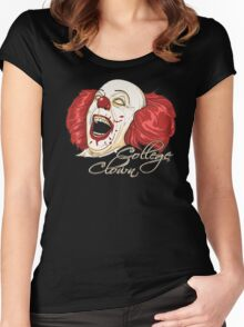 College Clowning Women's Fitted Scoop T-Shirt