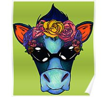 Cool cow Poster