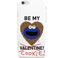 COOKIE MONSTER VALENTINE'S CARD 2 iPhone Case/Skin