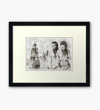 The Revenge of The Mist Framed Print