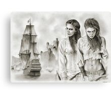 The Revenge of The Mist Canvas Print