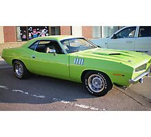 LIME GREEN Cuda! Photographic Print