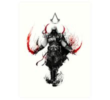 Assassin's Creed Ezio Art Print