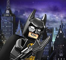 Lego Batman is there! by steinbock