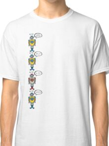 Robots Having a Bad Day Classic T-Shirt