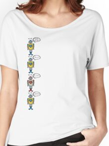 Robots Having a Bad Day Women's Relaxed Fit T-Shirt