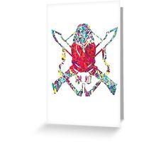 Legendary Symbol - Halo  Greeting Card