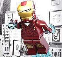 Lego Iron Man by steinbock